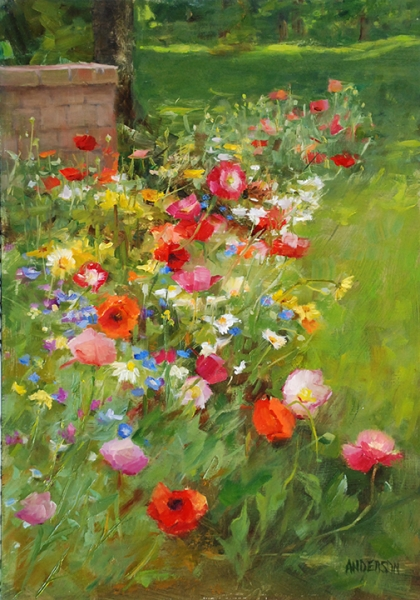 Wildflower Garden by Kathy Anderson