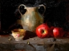 Tea & Apples Still Life,        Qiang Huang