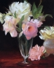 Roses in Vase by Diane Reeves